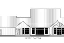 House Plan Design - Farmhouse Exterior - Rear Elevation Plan #1074-29