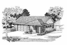 Traditional Exterior - Front Elevation Plan #72-267