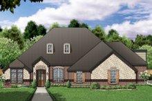 Home Plan - European Exterior - Front Elevation Plan #84-393