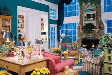 Home Plan - Colonial Interior - Family Room Plan #71-147