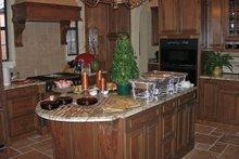 Dream House Plan - Mediterranean Interior - Kitchen Plan #1058-18