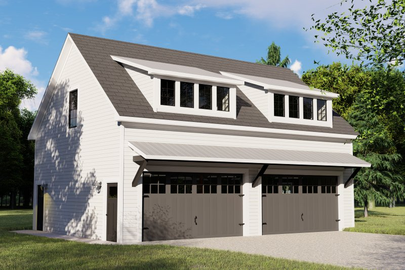 Architectural House Design - Country Exterior - Front Elevation Plan #1064-75