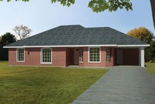 House Design - Ranch Exterior - Front Elevation Plan #1061-29