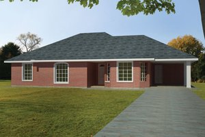 House Plan Design - Ranch Exterior - Front Elevation Plan #1061-29