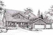 Craftsman Style House Plan - 4 Beds 2 Baths 1795 Sq/Ft Plan #78-111