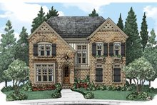 House Plan Design - European Exterior - Front Elevation Plan #927-499