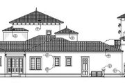 Mediterranean Style House Plan - 5 Beds 4 Baths 4457 Sq/Ft Plan #1058-17 Exterior - Other Elevation