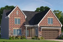 Country Exterior - Front Elevation Plan #20-2253