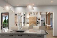 Architectural House Design - Craftsman Interior - Kitchen Plan #54-388