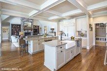 Architectural House Design - Craftsman Interior - Kitchen Plan #929-988