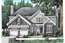 House Design - Country Exterior - Front Elevation Plan #927-903