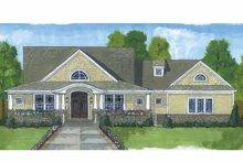Craftsman Exterior - Front Elevation Plan #46-822
