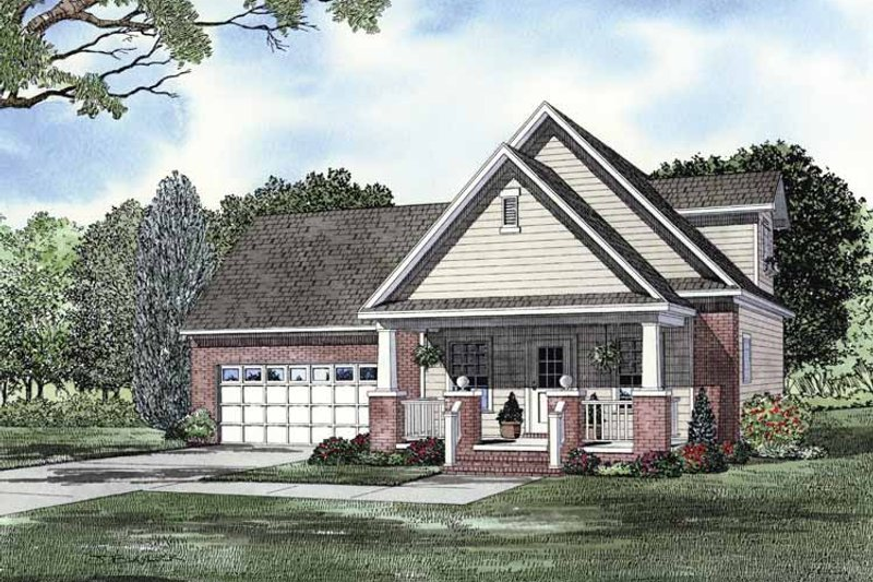 Dream House Plan - Traditional Exterior - Front Elevation Plan #17-3263