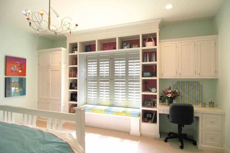 Craftsman Interior - Bedroom Plan #928-48 - Houseplans.com