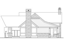 Dream House Plan - Country Exterior - Other Elevation Plan #124-967
