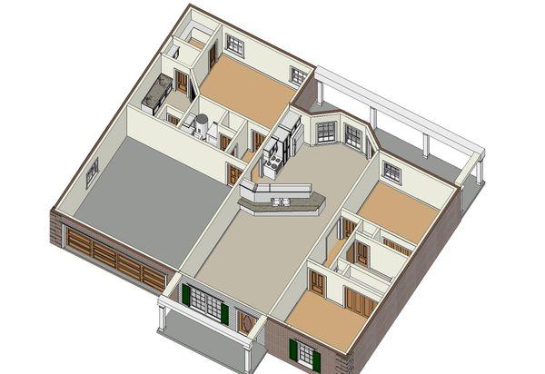 Traditional Floor Plan - Other Floor Plan Plan #44-135