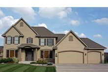 House Plan Design - Country Exterior - Front Elevation Plan #51-1097