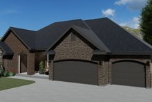 Dream House Plan - Traditional Exterior - Front Elevation Plan #1060-61