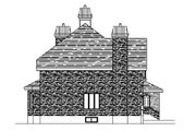 European Style House Plan - 4 Beds 2.5 Baths 3287 Sq/Ft Plan #138-333 Exterior - Other Elevation