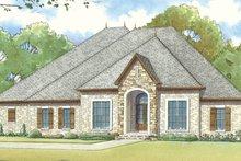 Home Plan - European Exterior - Front Elevation Plan #17-3412