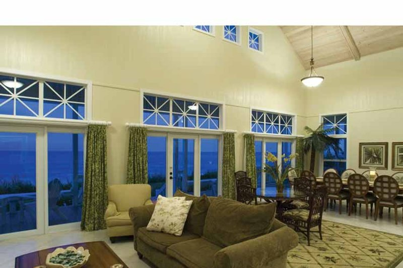 Country Interior - Family Room Plan #928-43 - Houseplans.com
