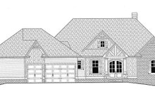 Craftsman Exterior - Front Elevation Plan #437-76