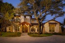 House Design - Mediterranean Exterior - Front Elevation Plan #472-2