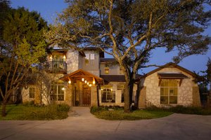 Dream House Plan - Mediterranean Exterior - Front Elevation Plan #472-2
