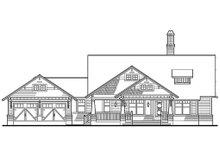 Craftsman Exterior - Front Elevation Plan #120-187