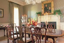 Classical Interior - Dining Room Plan #137-307