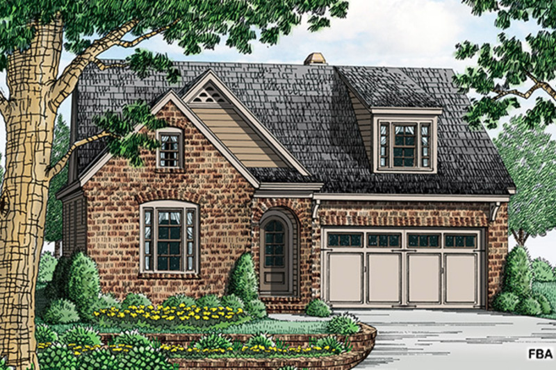 Colonial Exterior - Front Elevation Plan #927-970 - Houseplans.com