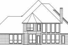 Dream House Plan - European Exterior - Rear Elevation Plan #84-155