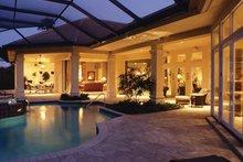 House Plan Design - Mediterranean Exterior - Rear Elevation Plan #930-272