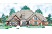 House Plan Design - Traditional Exterior - Front Elevation Plan #52-286