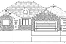 Dream House Plan - Ranch Exterior - Front Elevation Plan #1060-30