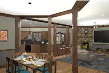 Craftsman Interior - Dining Room Plan #56-718
