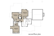 Farmhouse Floor Plan - Upper Floor Plan Plan #120-258