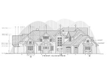 Craftsman Exterior - Front Elevation Plan #892-28