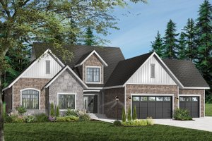 Traditional Exterior - Front Elevation Plan #23-401