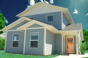 Craftsman Style House Plan - 3 Beds 2 Baths 1264 Sq/Ft Plan #518-6 Photo