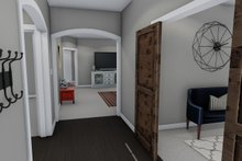 Ranch Interior - Entry Plan #1060-42