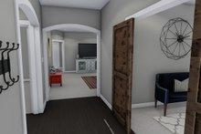 Dream House Plan - Ranch Interior - Entry Plan #1060-42