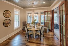 House Plan Design - Country Interior - Dining Room Plan #928-1