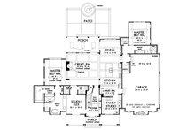 Farmhouse Floor Plan - Main Floor Plan Plan #929-1113