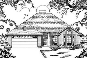 Traditional Exterior - Front Elevation Plan #42-102