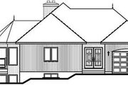 Modern Style House Plan - 2 Beds 2 Baths 1400 Sq/Ft Plan #23-162 Exterior - Rear Elevation