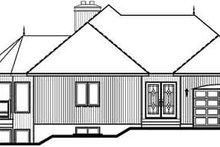 Dream House Plan - Modern Exterior - Rear Elevation Plan #23-162