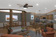 House Plan Design - Family to Kitchen