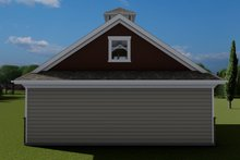 Dream House Plan - Traditional Exterior - Rear Elevation Plan #1060-98