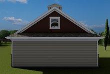 House Plan Design - Traditional Exterior - Rear Elevation Plan #1060-98